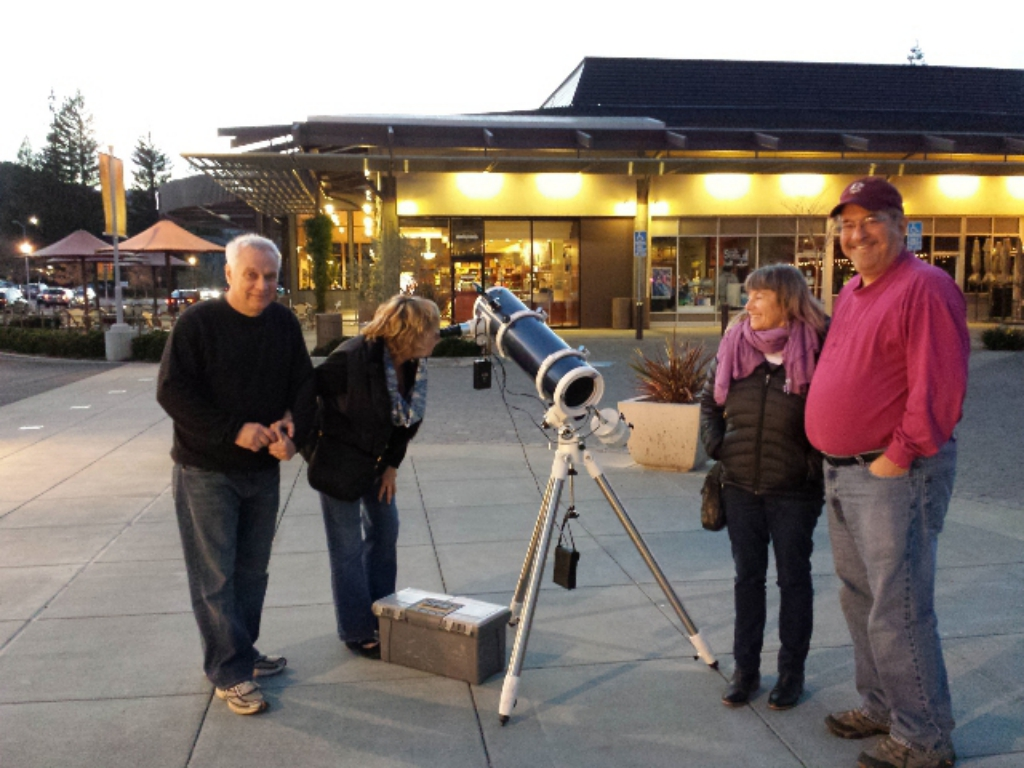 Join us for a Telescope Viewing!